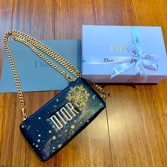 100% Authentic Christian Dior Makeup Bag DIY